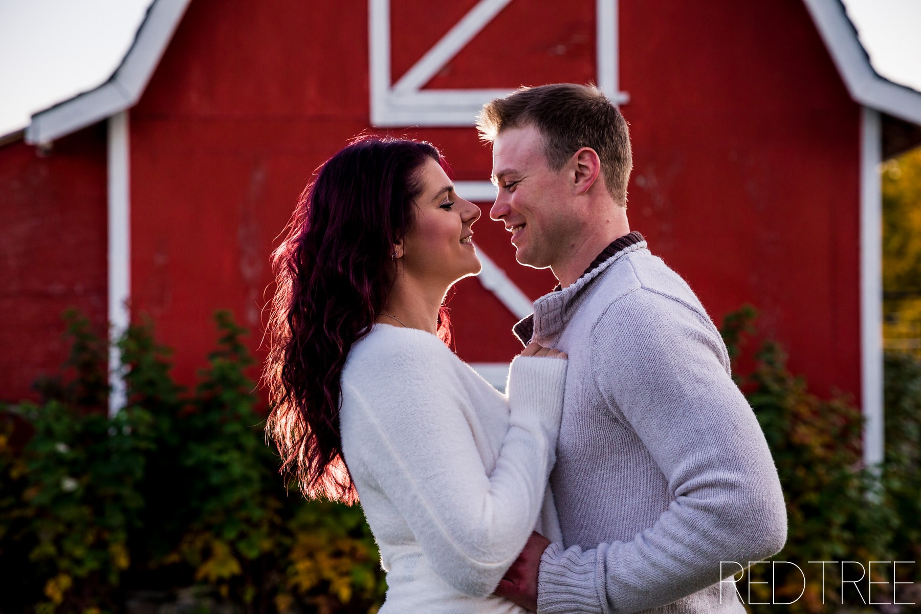 Farm Couple Photography in Edmonton: Fall Farm Photos