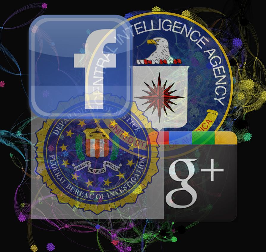 CIA Google, Facebook Logo 3