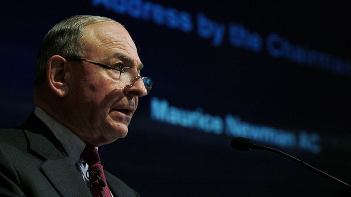 Maurice Newman, the Australian PM's business adviser (Reuters/Daniel Munoz)