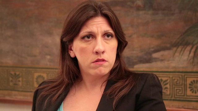 Zoe Konstantopoulou, speaker of the Greek parliament, said the debt was illegal and odious
