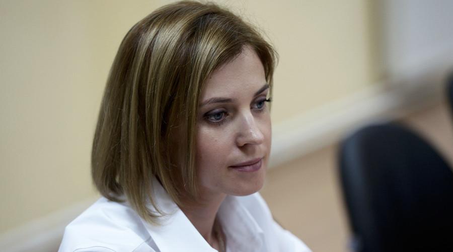 Crimea's General Prosecutor Natalia Poklonskaya © Aleksey Nikolskyi / RIA Novosti