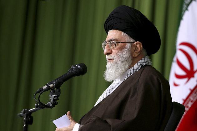 OFFICE OF THE IRANIAN SUPREME LEADER /ASSOCIATED PRESS Ayatollah Khamenei predicted 'divine vengeance' for Saudi Arabia.