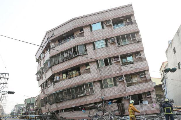 Taiwan Quake Malaysia