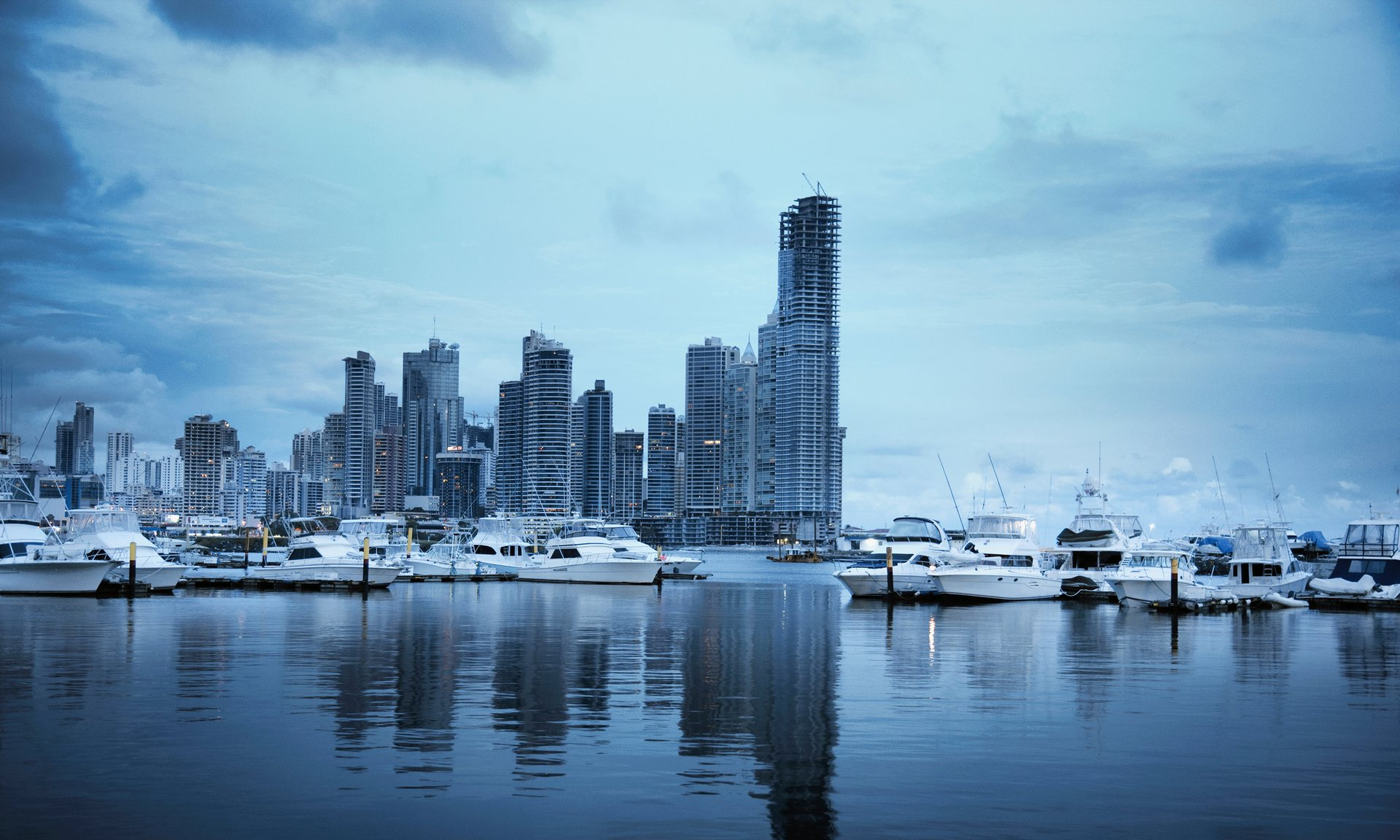 Panama, where Mossack Fonseca is based.  Photograph: DreamPictures/Getty Images/Tetra images RF