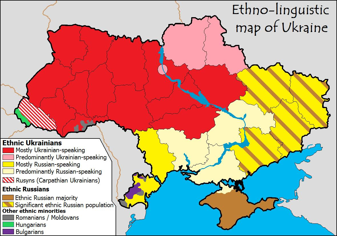 Ethno-linguistic-map-of-Ukraine