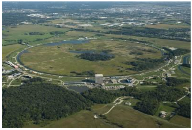 """This is a picture of a """"normal"""" accelerator. It is above ground and has continuous access points. There is no reason to place an atom smasher underground and many reasons not to do so."""