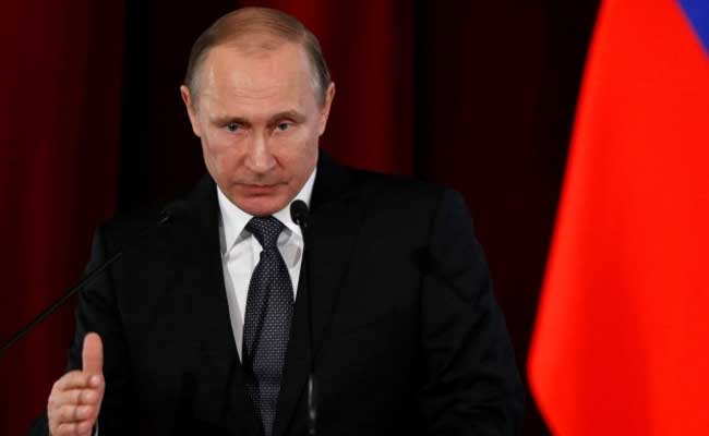 Russian President Vladimir Putin said that Moscow had stated repeatedly that it would have to take retaliatory steps but that Washington and its allies had ignored the warnings. (Reuters photo)