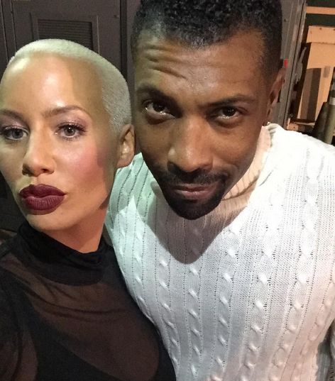 deon cole amber rose