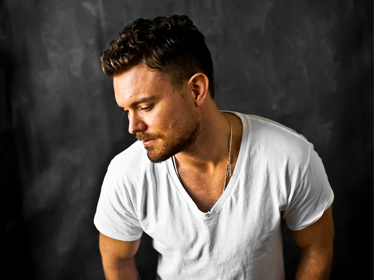 Clayne Crawford from the