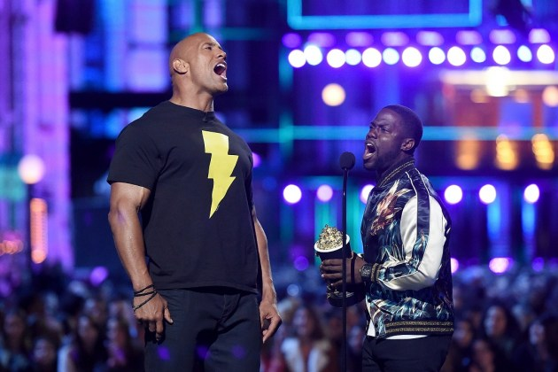 kevin hart dwayne the rock