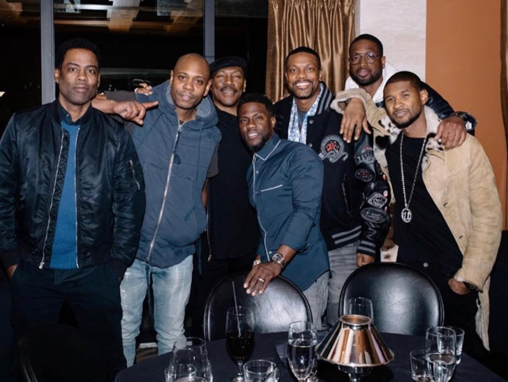 Kevin Hart Shares Chris Rock Paid For Meal With Dave Chappelle Eddie Murphy Chris Tucker And More