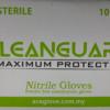 SPH Medical Nitrile Gloves Front of Case