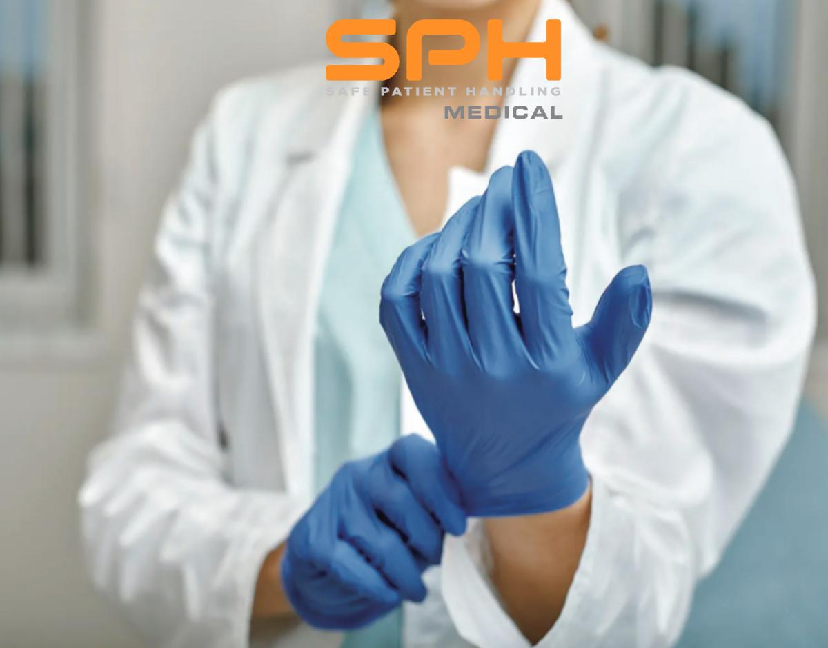 SPH Medical delivers Nitrile Exam Gloves