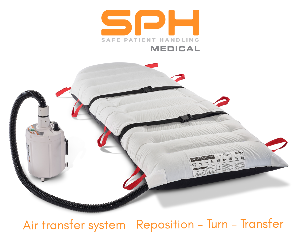 Reposition Turn and Transfer with the SPH Medical Air Transfer System