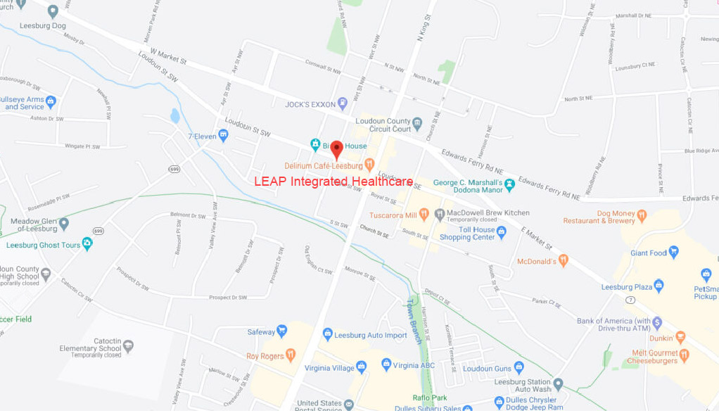 Directions to Leap Integrated Healthcare