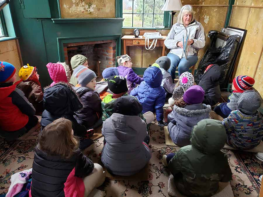The Windham Free Library story hour