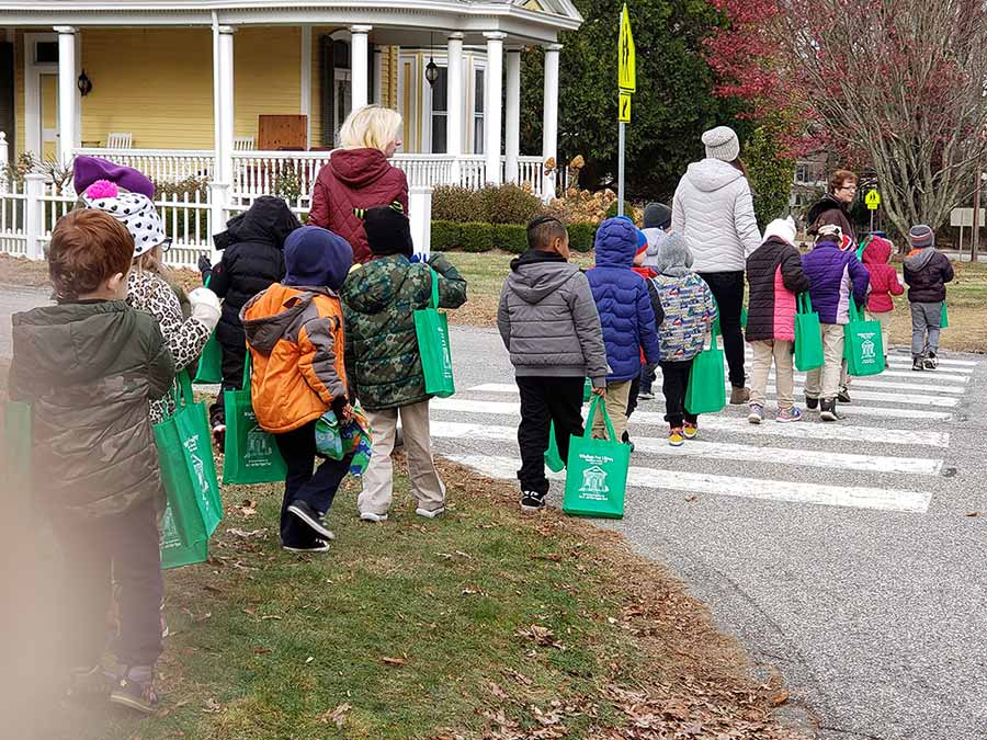 The Windham Free Library field trip