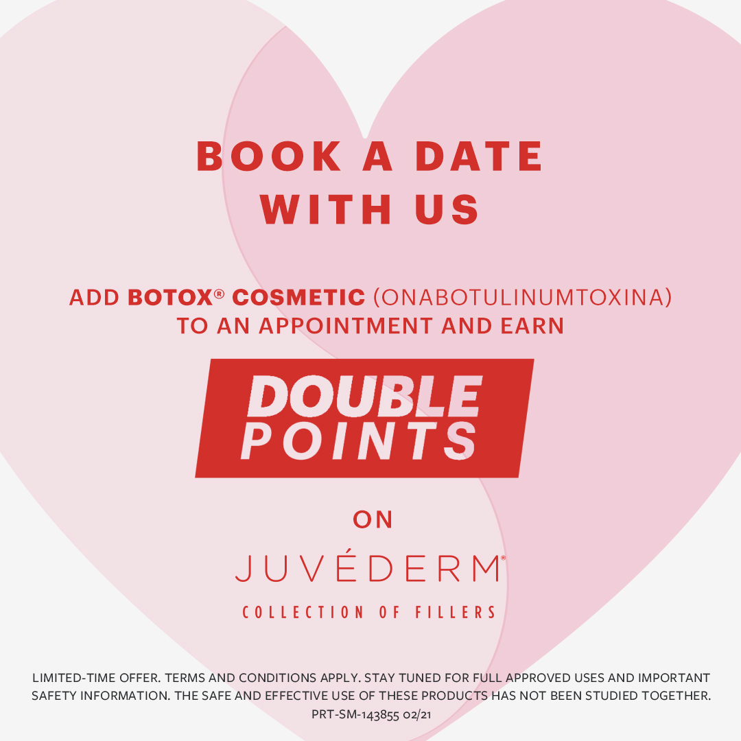 Juvederm double points