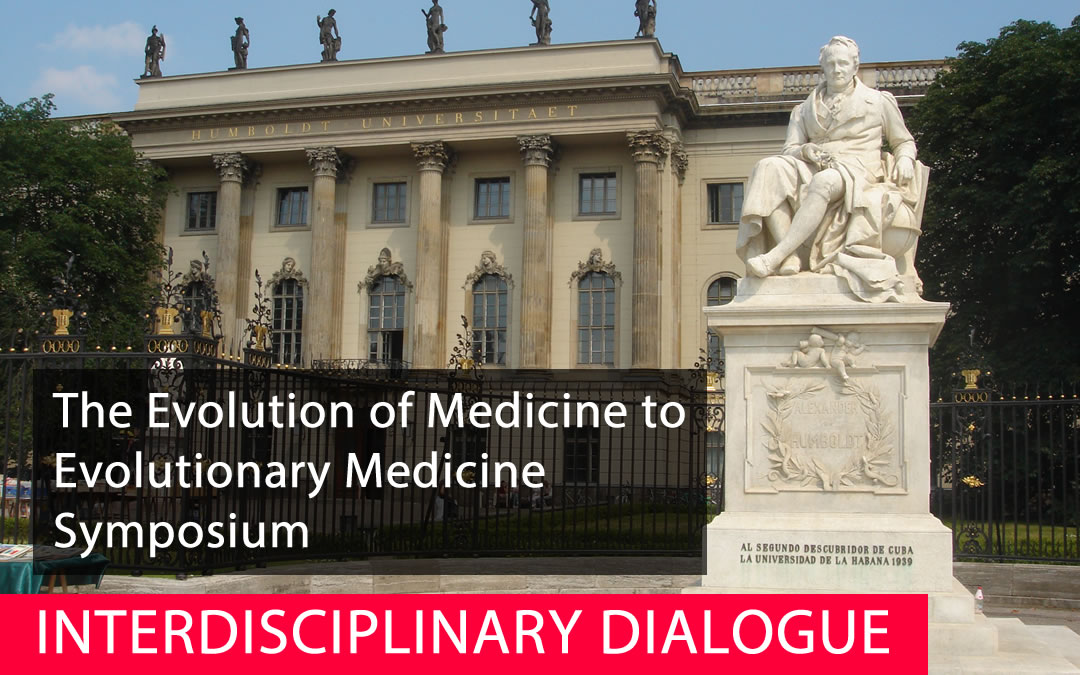 Special Free Evolutionary Medicine  Symposium Nov 10 in Berlin