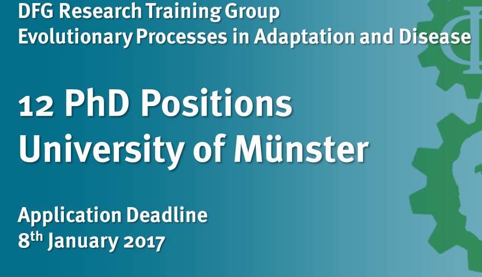 New Evolution and Medicine Program at University of Münster