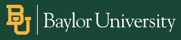 New PhD Program at Baylor