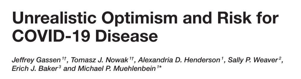 The Price of Optimism