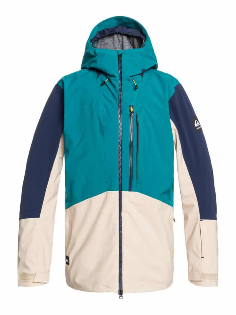 Snow jacket design from Quiksilver Recycled for Radness collection.
