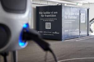 BLESS™ (BatteryLoop Energy Storage System) installed at Essity, in Sweden