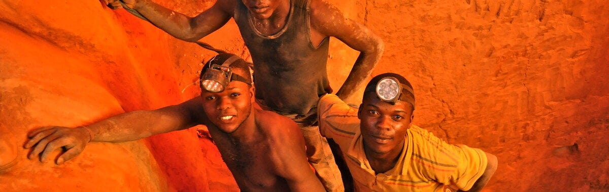 Young mine workers with inadequate health and safety provision