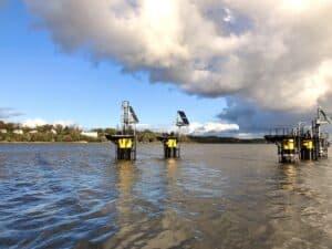 New green berthing area at Port of Hamburg