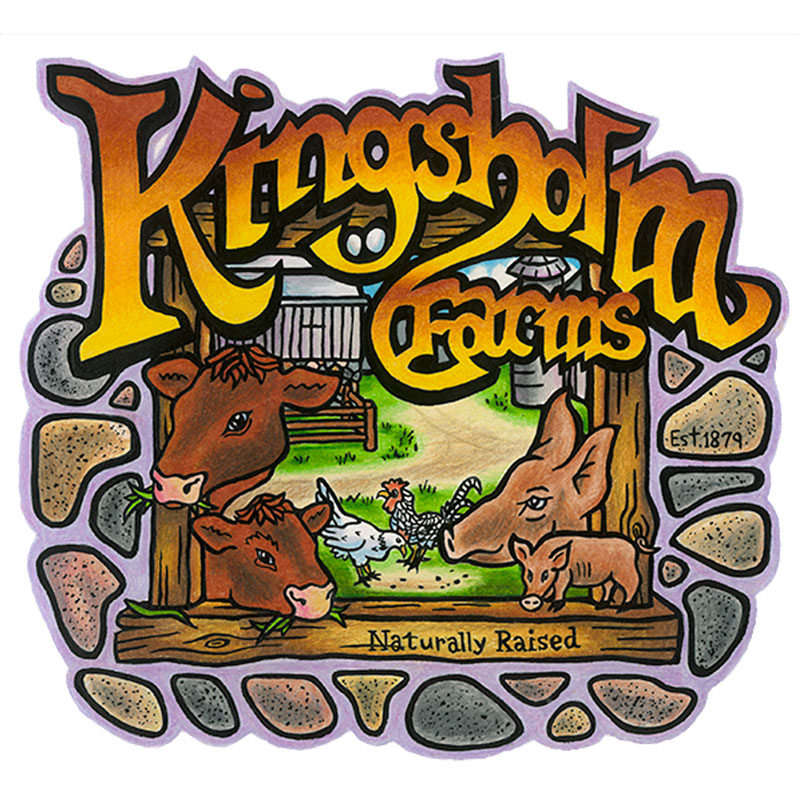 Kingsholm Farms Logo
