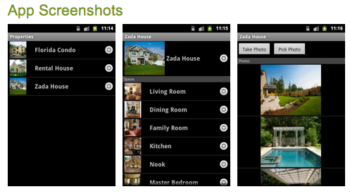 HomeZada Mobile Android App