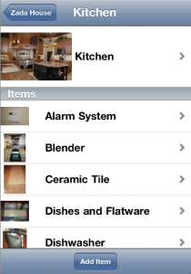 HomeZada Mobile for iPhone