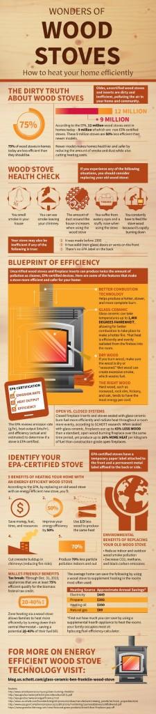 Wood Burning Stove Infographic