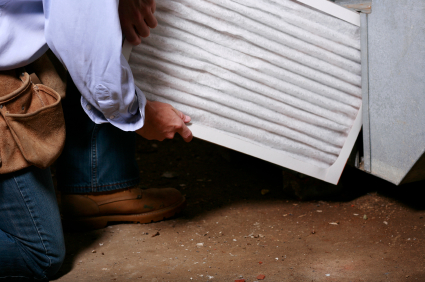 HomeZada replace central air conditioning filters