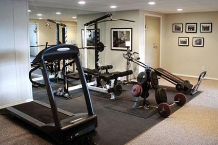 Workout Room Furnishings