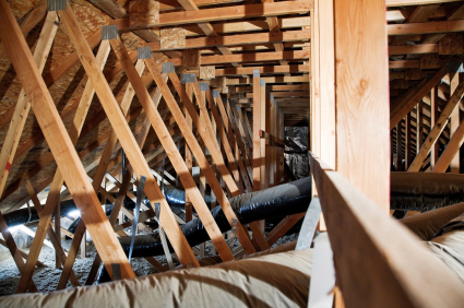 inspect attic air vents