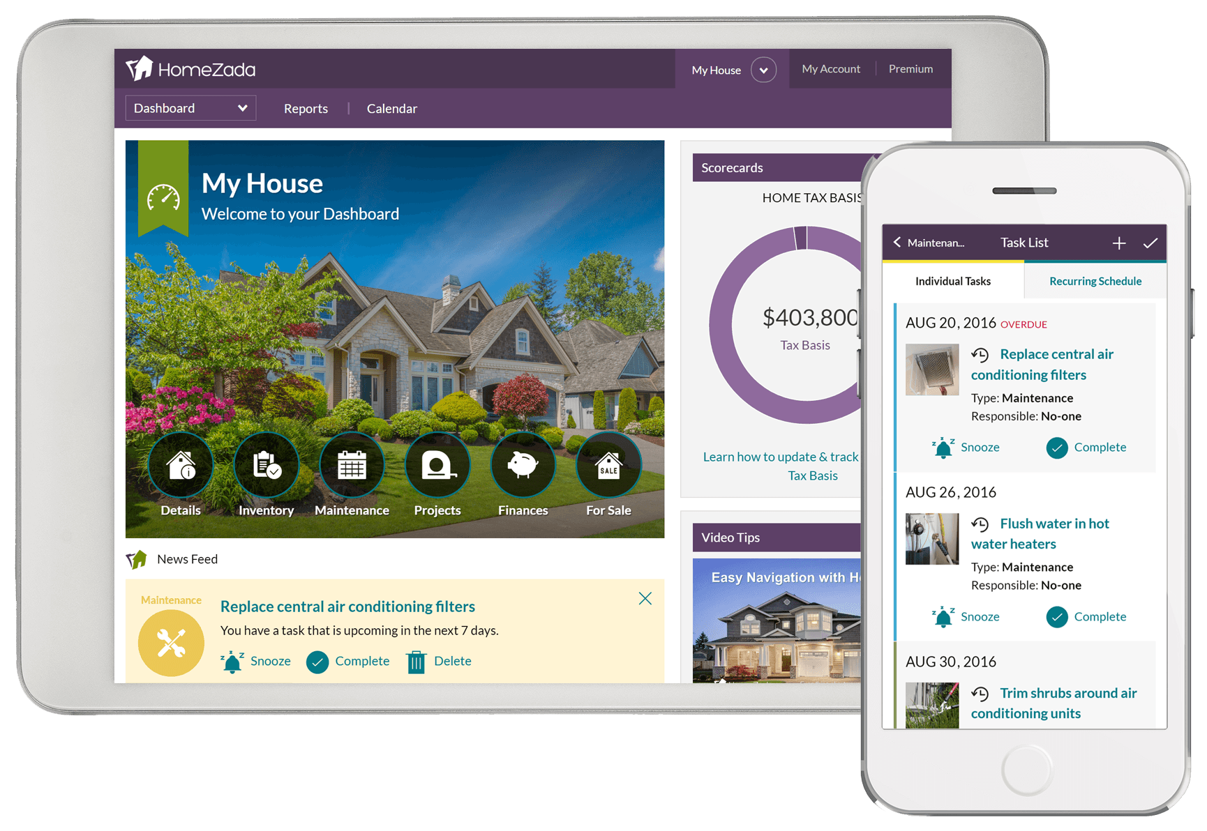 Home Organizing Made Easy with HomeZada