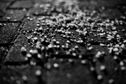 Sprinkle Sand or Salt for Traction