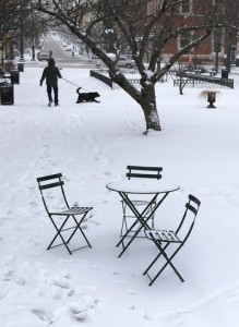 Winter Weather Maryland- Outdoor Furniture