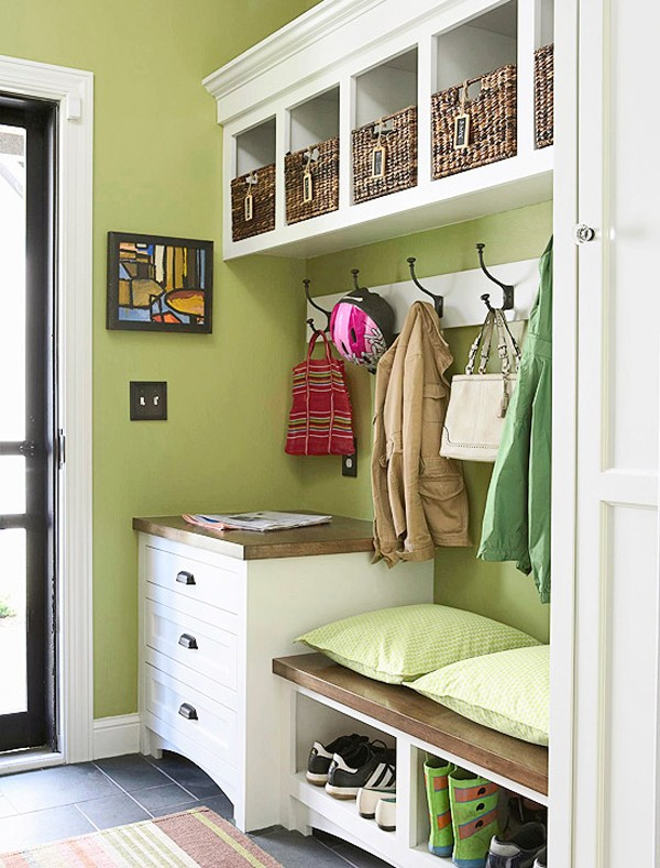 Declutter Family Spaces