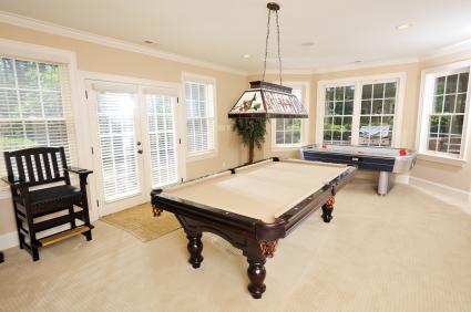 HomeZada Game room furnishings