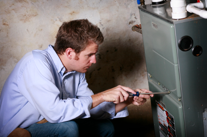 inspect heating and cooling systems