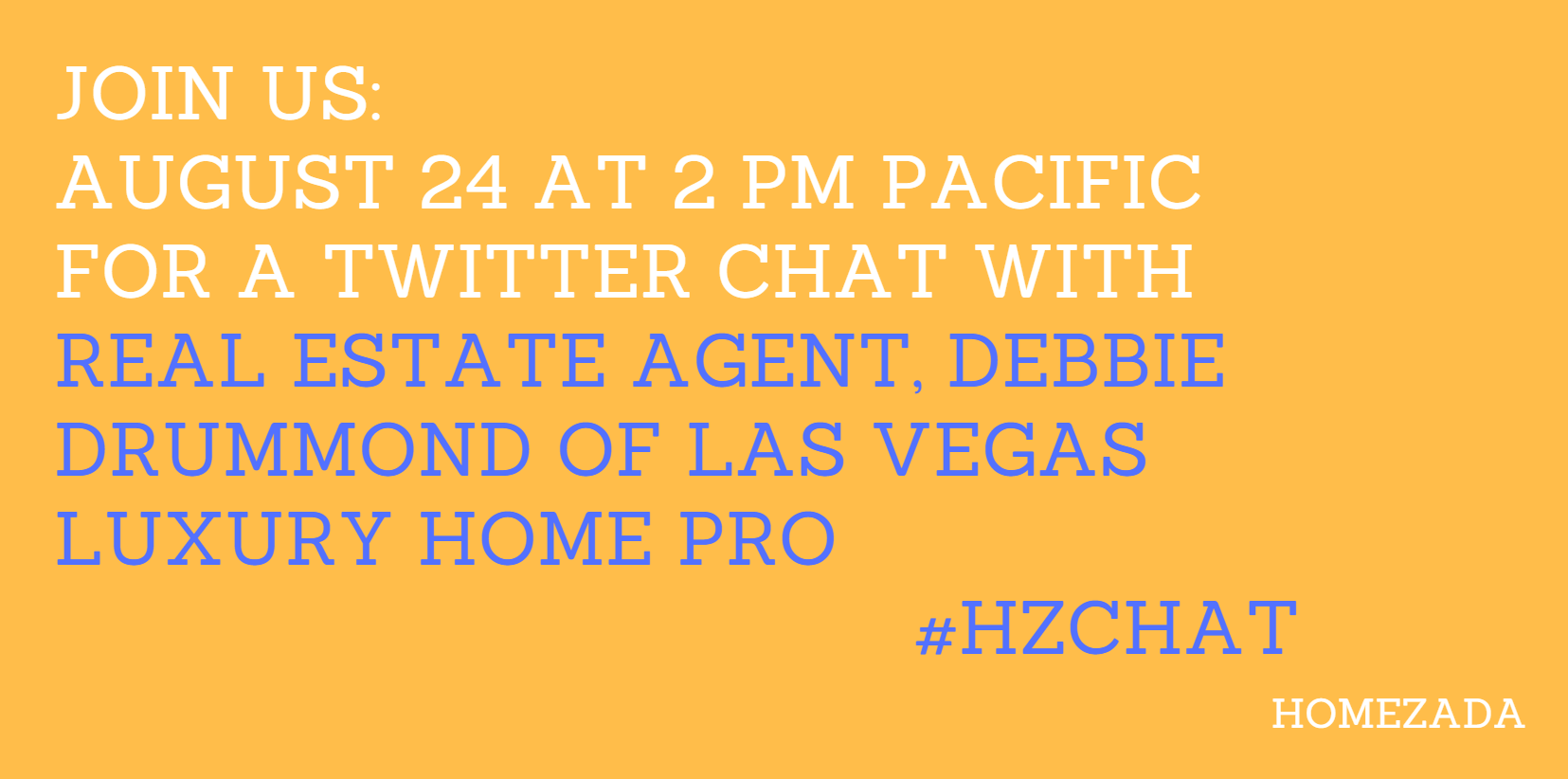 Twitter Chat with Real Estate Expert Debbie Drummond