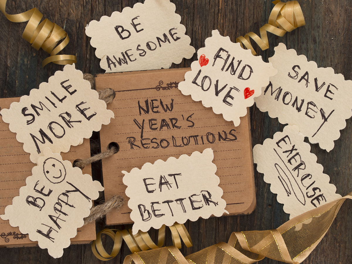 Organizing Next Year's Resolutions and How to Stick to Them