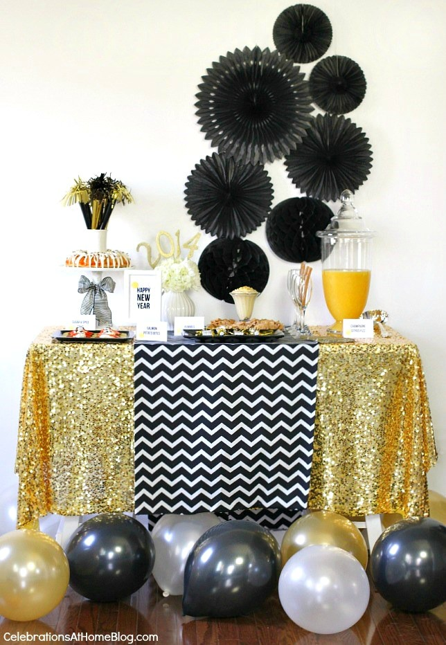 7 Ways to Celebrating New Year's at Home