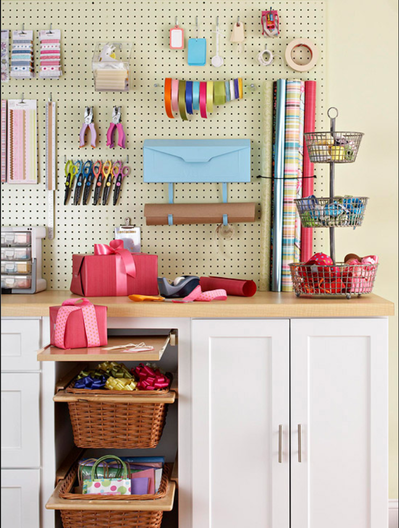 How to Make Your Own Gift Wrapping Station