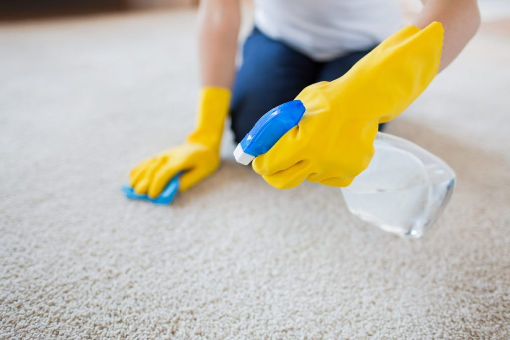 Make these 5 common carpet stains disappear