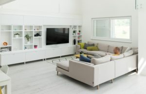 6 Ways to Blend Your TV into Your Living Room Décor