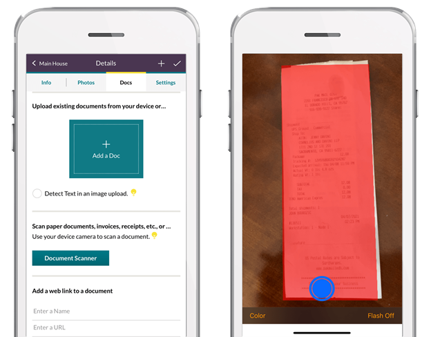 HomeZada Launches Document Scanning Features